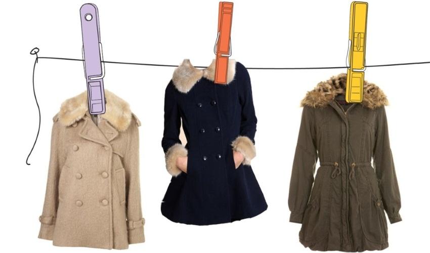 В домашних условиях почистить пальто
